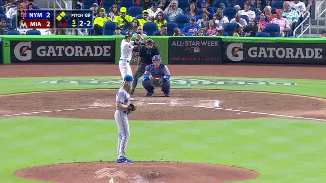 Watch Marlins vs Mets - Highlights/April 14, 2017 GIF on Gfycat. Discover more related GIFs on Gfycat