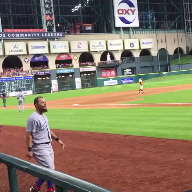 Watch and share Texas Rangers GIFs and Rougned Odor GIFs on Gfycat