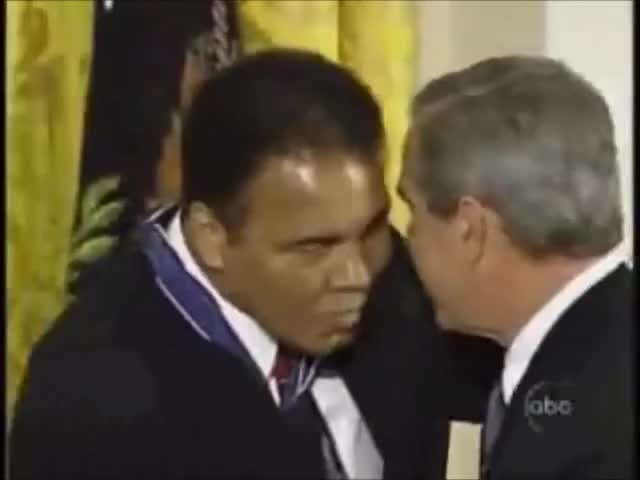 Watch Muhammad Ali vs. George Bush GIF on Gfycat. Discover more gifs, muhammad, vs GIFs on Gfycat