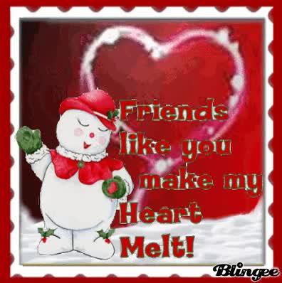 Watch and share Friends Like You Make My Heart Melt! GIFs on Gfycat