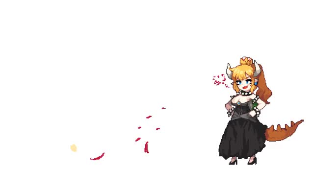 Watch and share Bowsette Mario Series New Super Mario Bros U Deluxe And Super Mario Bros Drawn By Terishe 2f49d849ba047f1893087638c26d3280 GIFs on Gfycat