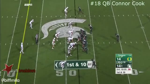 Watch and share Connor Cook Reading Progressions GIFs on Gfycat