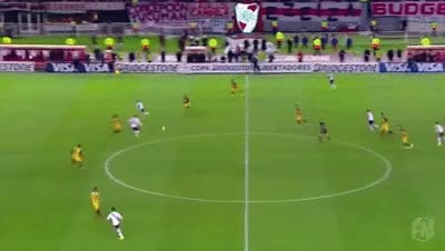Watch and share Amazing Goal - Rodrigo Mora (River Plate) Vs. Guaraní GIFs on Gfycat