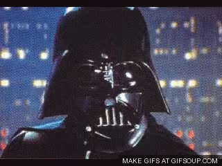 Watch and share Darth Vader GIFs on Gfycat