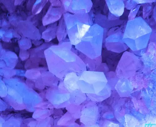 Watch and share Glowing Crystals GIFs on Gfycat