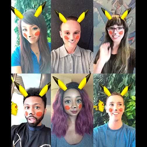 Watch and share PikachuLensGif GIFs on Gfycat