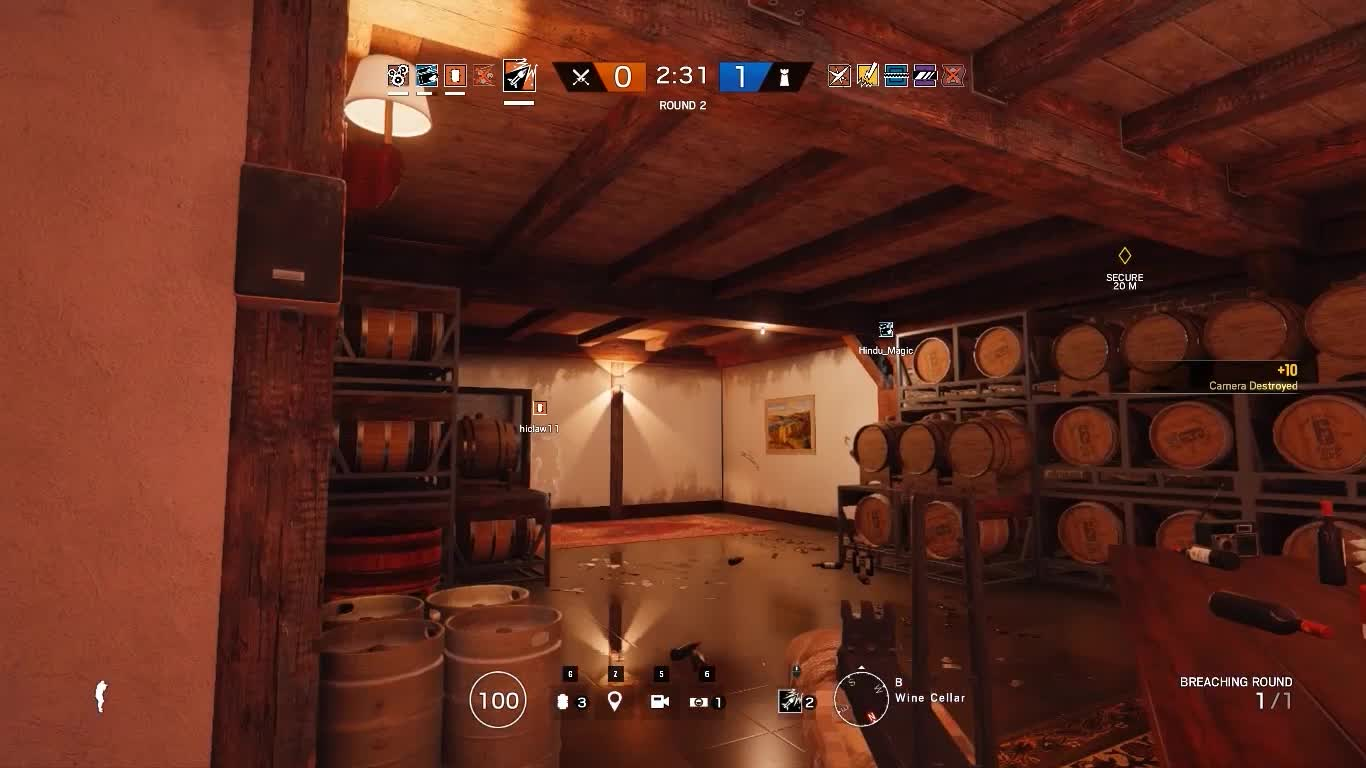 Rainbow Six Siege, RainbowSixSiege, I can't believe I actually pulled this off with Ash. GIFs