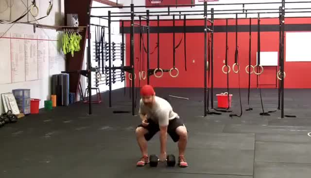 CrossFit Dumbbell Snatch - Northstate CrossFit GIFs