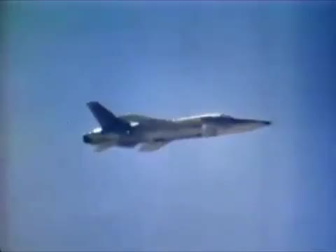 Watch F-104 Starfighter dropping the B43 nuke. (reddit) GIF by @forte3 on Gfycat. Discover more Explosion_Gfys, explosion_gfys GIFs on Gfycat