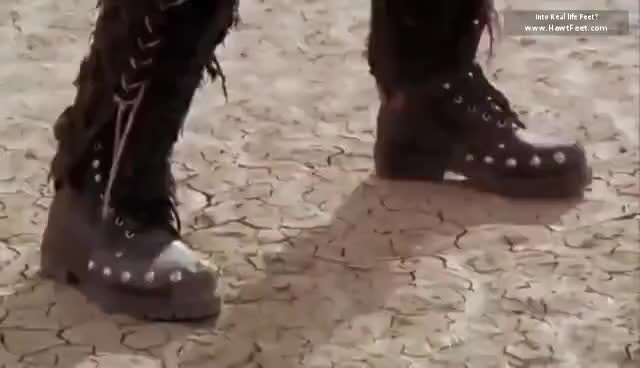 Watch and share Barefoot Woman From Scifi GIFs on Gfycat