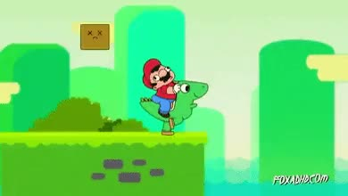 Watch and share Mario Death GIFs on Gfycat
