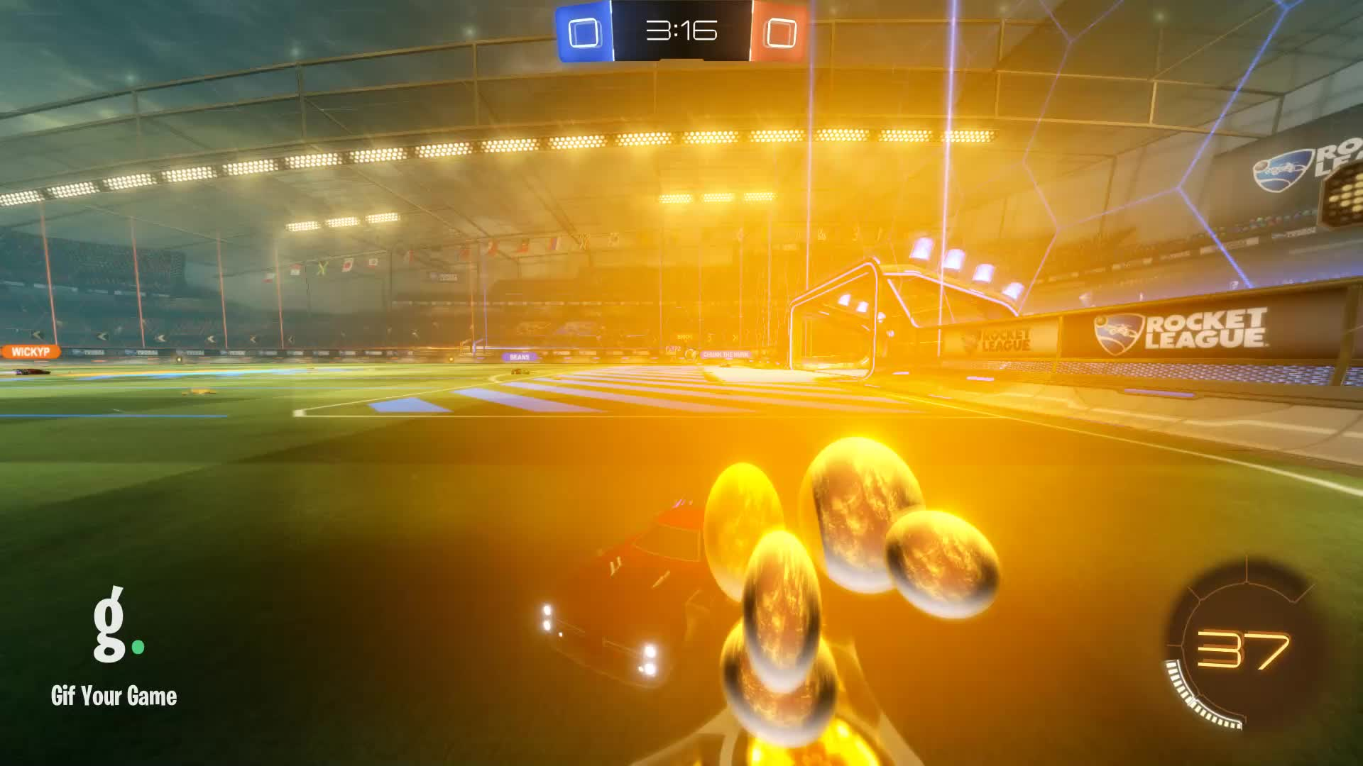 FireFox, Gif Your Game, GifYourGame, Goal, Rocket League, RocketLeague, Goal 1: FireFox GIFs