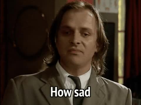 Watch this how sad GIF by MikeyMo (@mikeymo) on Gfycat. Discover more bottom, express feelings, how sad, pathetic, rik mayall, sad, sarcastic GIFs on Gfycat