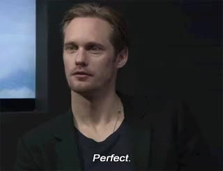 Watch hehe, not gonna lie, it totally is ;) GIF on Gfycat. Discover more Alexander Skarsgård, henricavyll, there's nothing not to love amiga. GIFs on Gfycat