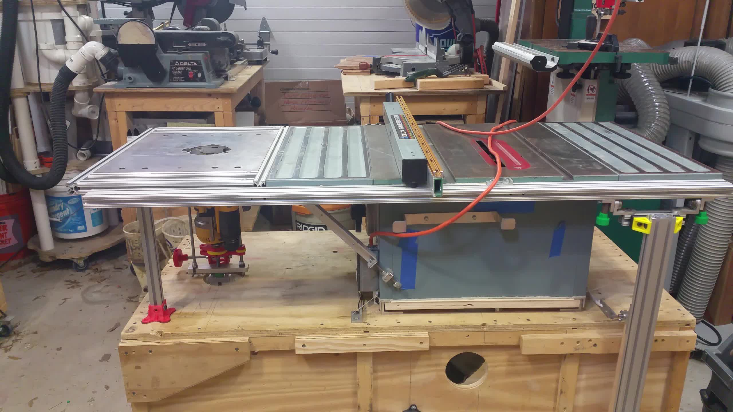 3dprinting, tools, woodworking, Router Table / Table Saw Setup GIFs