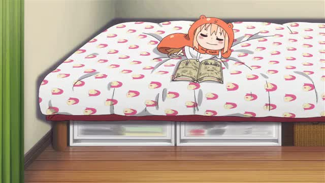 Watch and share Himouto GIFs and Anime GIFs by anarchiszm on Gfycat