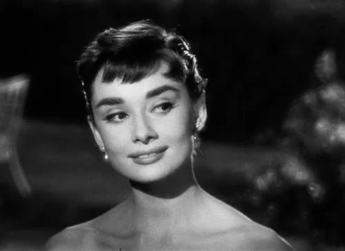 Watch and share Classic Movies GIFs and Audrey Hepburn GIFs on Gfycat