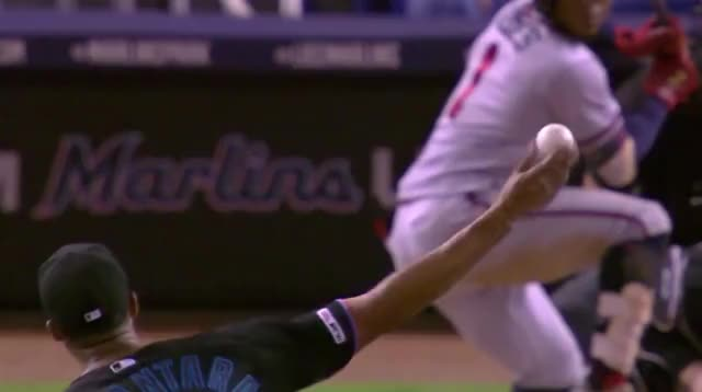 Watch and share Atlanta Braves GIFs and Miami Marlins GIFs by Ely Sussman on Gfycat