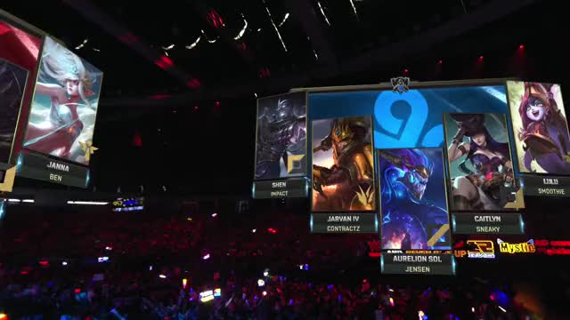 Watch and share WE Vs. C9 Worlds Quarterfinals Match Highlights 2017.mp4 GIFs on Gfycat