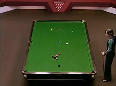 1982 World Snooker Championship Final - Alex Higgins v Ray Reardon GIFs