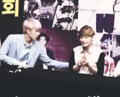 Watch sechen being super cute ;u; GIF on Gfycat. Discover more chen, chengif, exo, exo k, exo m, exogif, gif, jongdae, se hun, sechen, sehun, sehungif GIFs on Gfycat