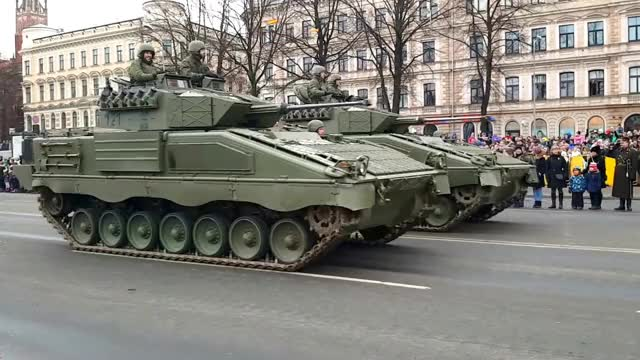 Watch and share Military Parade In Riga, Latvia. 18.11.2017 GIFs on Gfycat