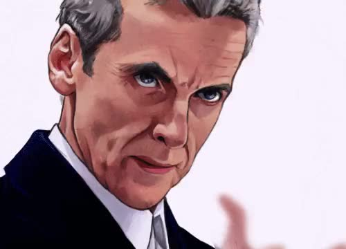 Watch and share Mel Arts Things GIFs and Twelveth Doctor GIFs on Gfycat