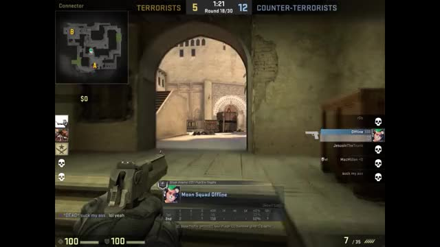 Watch oddlysatisfying peek GIF on Gfycat. Discover more counter strike, counter-strike, csgo, funny, global offensive, team, timing GIFs on Gfycat