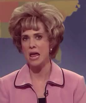 """Watch and share Kristen Wiig Doing Aunt Linda (""""Oh, Brother!"""") GIFs on Gfycat"""