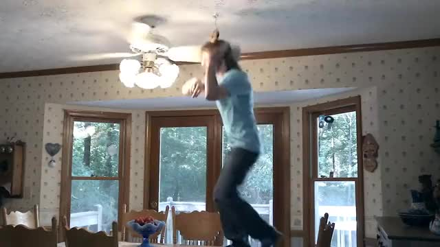 Watch Ceiling Fan Trick Knockdown 2 GIF on Gfycat. Discover more Fan, Fans, cft, cft2, comedy, donut, hilarious, knockdown, spinning, stuntman89, trick, tricks GIFs on Gfycat