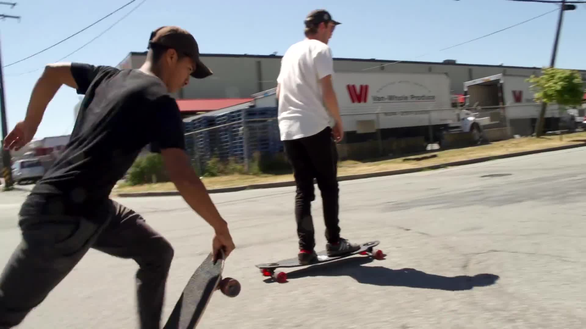 Dillon Stephens, Steven Vera, Vancouver, Vancouver Longboarding, Verafied, Vlog, chill longboarding, longboard vlog, longboarding vlog, skateboarding, CHILLEST DAY LONGBOARDING EVER GIFs
