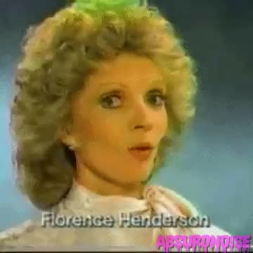 Watch and share Florence Henderson GIFs and 80s Commercials GIFs on Gfycat
