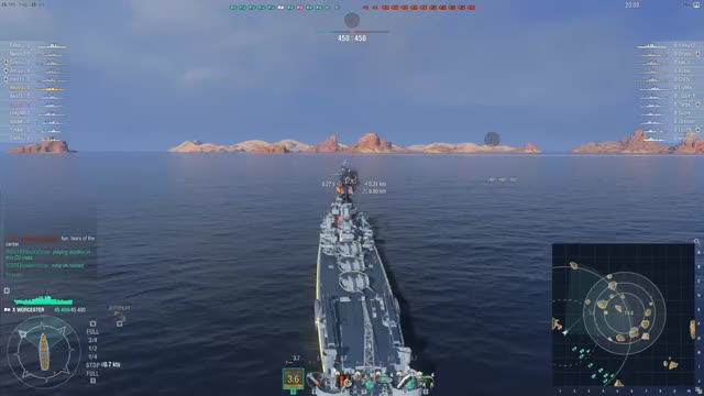 Watch Worcester Heart Pounding Carry GIF on Gfycat. Discover more Gaming, WoWS Replays, World of Warships GIFs on Gfycat