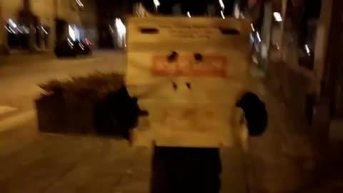 box, creep, creepy, freak, monster, night, stalker, Creepy monster box GIFs