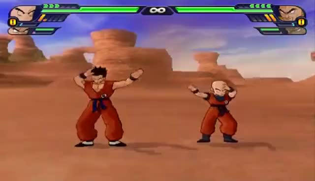 Watch and share Krillin GIFs and Fusion GIFs on Gfycat