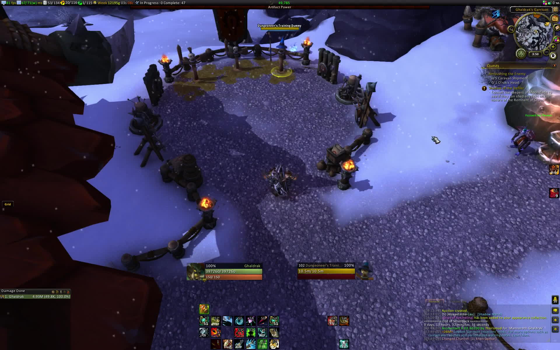 wowui, Hunter Weakaura's Legion GIFs