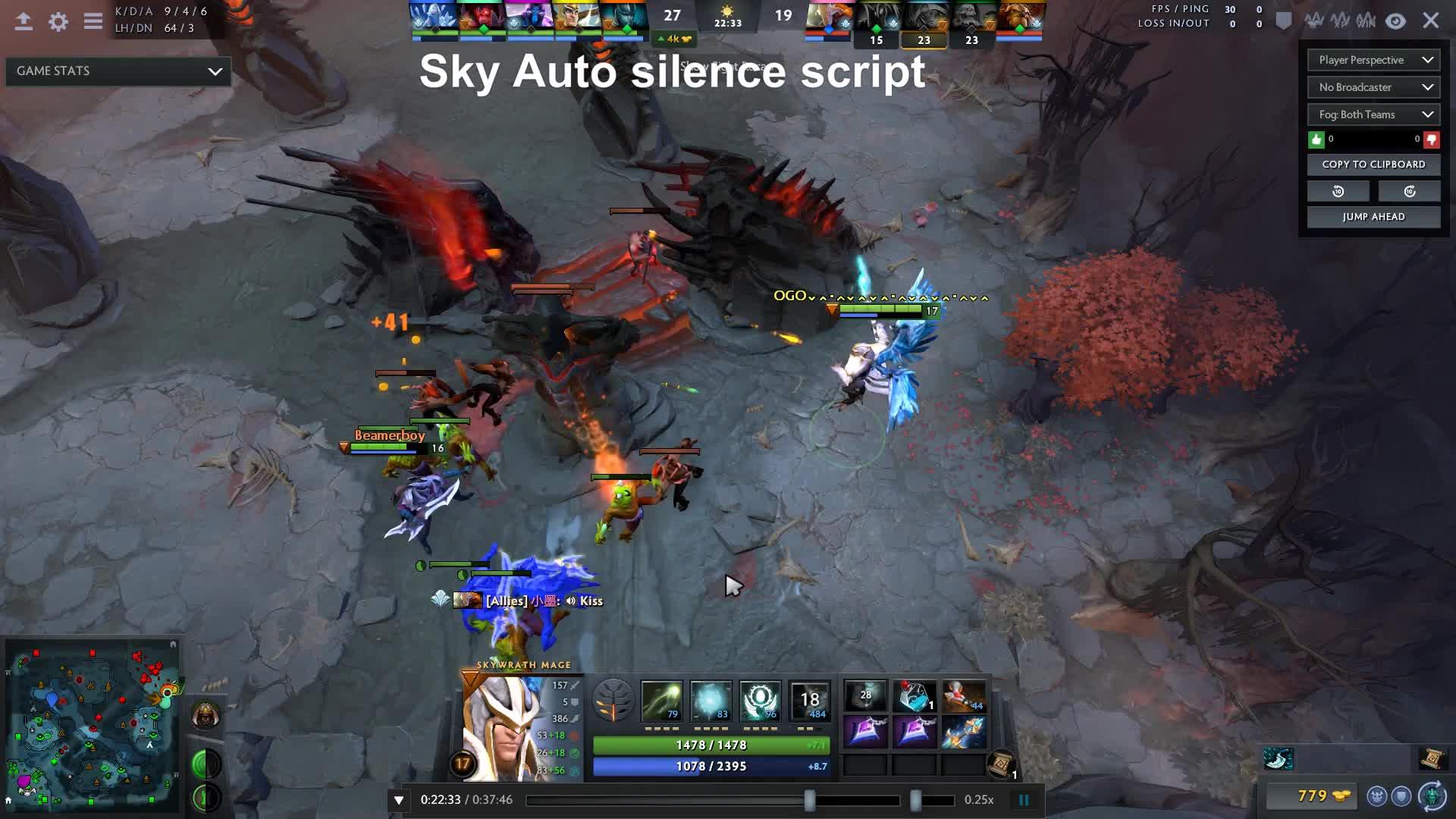 Dota 2 Autocast Script Cheater Proof Player Perspective 1