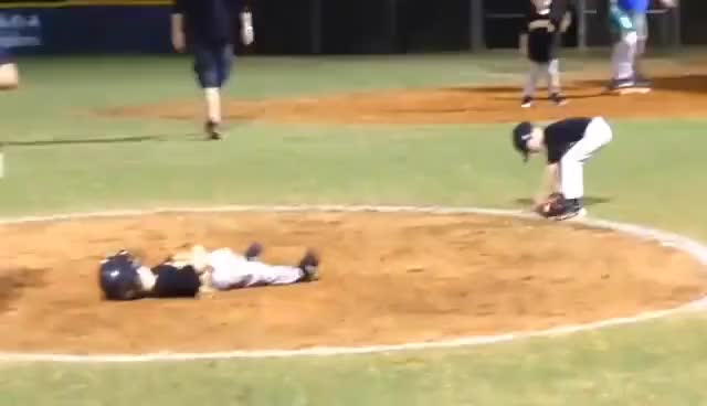 Watch and share Baseball Is Hard | Baseball Fails GIFs on Gfycat