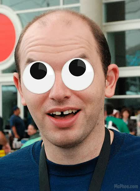 Watch and share Because Googly Eyes Are Funny. GIFs on Gfycat