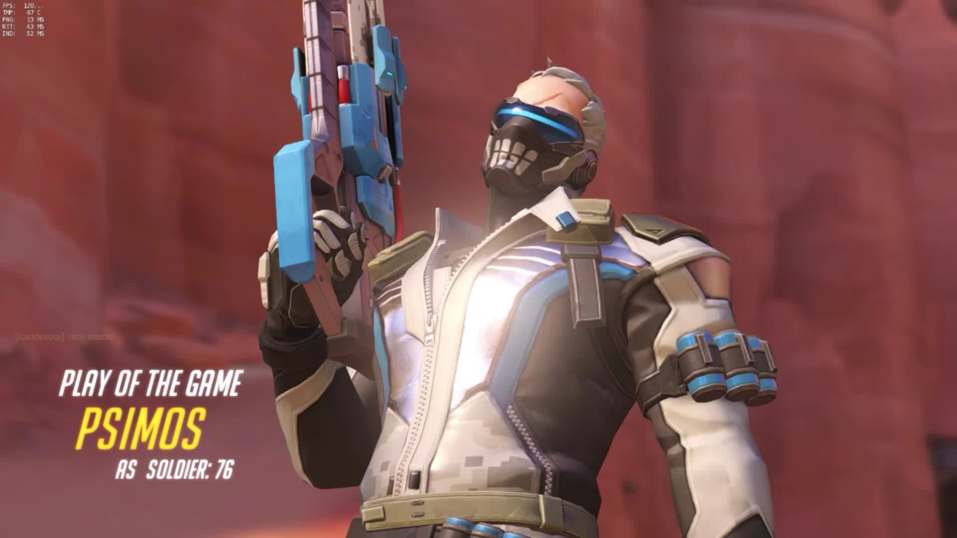 Soldier: 76 Play of the Game