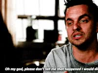 Watch and share Nick Miller, New Girl GIFs on Gfycat