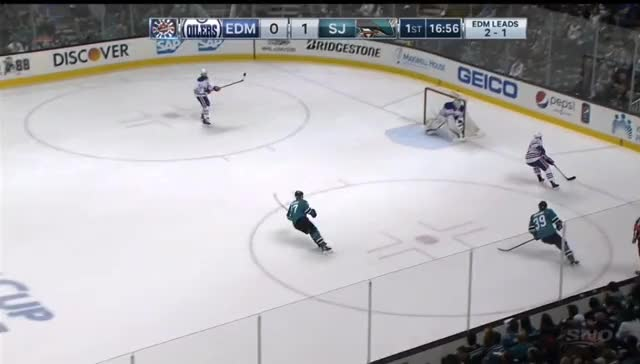 Watch and share Sekera Russell Game 4 San Jose Mistake On Chance GIFs by cultofhockey on Gfycat