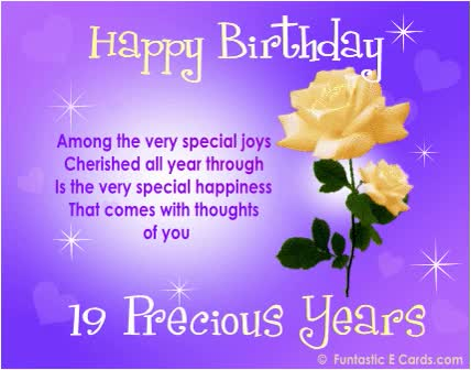 Watch and share Birthday Card Years Roses Yellow On Lilac GIFs on Gfycat