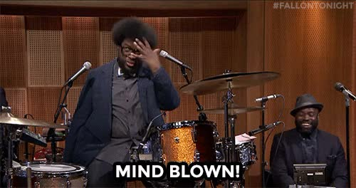 Watch Mind Blown GIF by Miss GIF (@mizznaii) on Gfycat. Discover more Questlove, blewmymind, mindblown, mindgasm GIFs on Gfycat