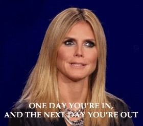 heidi, heidi klum, model, supermodel, youre out GIFs