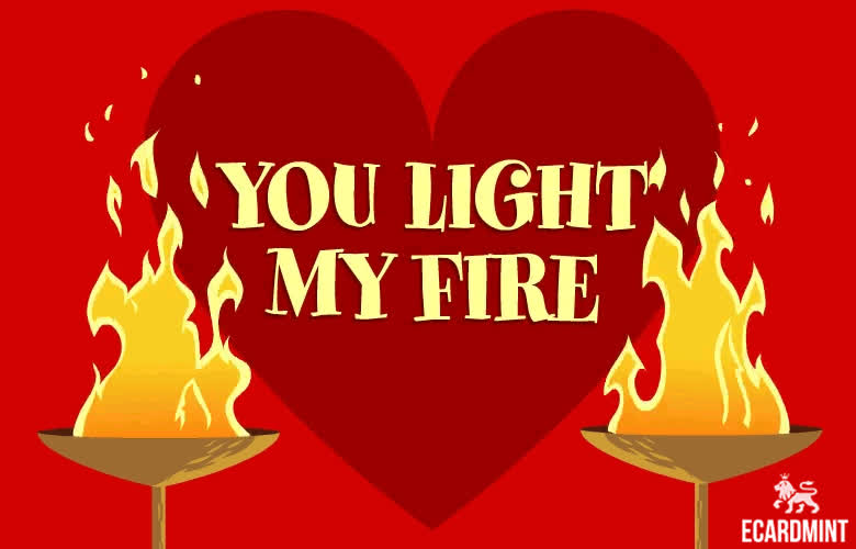 happy valentines day, heart, hi, love, romantic, valentine's day, valentines, valentines day, Light My Fire GIFs
