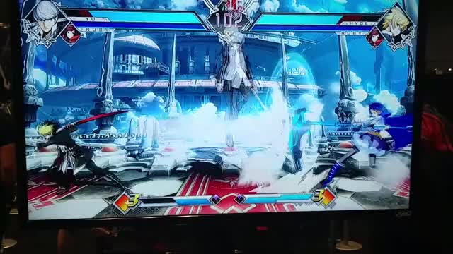 Watch and share NYCC Blazblue CrossTag 1(4) GIFs on Gfycat