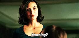 Watch and share Morena Baccarin GIFs and Morning GIFs on Gfycat