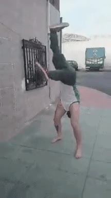 Watch Crazy break dancer • r/BetterEveryLoop GIF on Gfycat. Discover more related GIFs on Gfycat