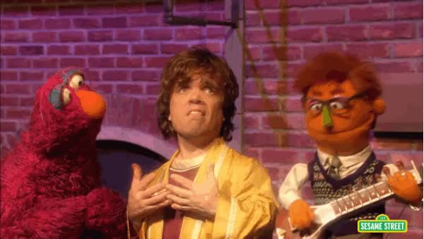 Watch this peter dinklage GIF on Gfycat. Discover more peter dinklage, sesame street GIFs on Gfycat